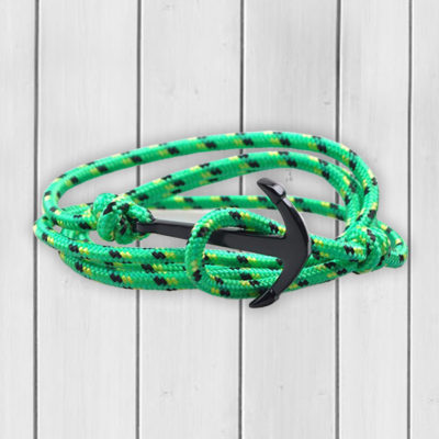 orchrd-black-edition-anchor-bracelet-green-rope